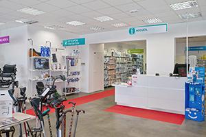 banque accueil magasin bastide le confort médical brest